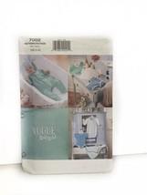 Vogue 7002 Infants Gown Jumpsuit Romper Hat Bib Diaper Cover Sewing Patt... - $7.91