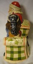 Vaillancourt Folk Art, My Christmas  Wish Santa signed by Judi Vaillancourt image 6