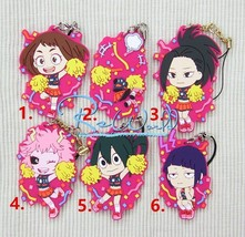 My Hero Academia Boku no Hero Akademia Rubber Strap Keychain Keyring Ichiban New - $4.64+