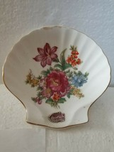 Bone China Shell Trinket Dish Made In Japan Marked Free shipping USA - $10.15