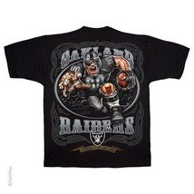 New Oakland Raiders Running Back T Shirt Black Shirt Nfl Team Apparel - $21.99