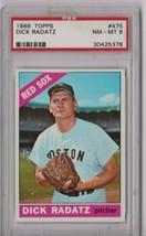 1966 Topps Dick Radatz #475 PSA 8 P407 - $23.15