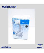 ResMed AirFit F20 Full Face CPAP Mask with Headgear - Large (63402) - $79.99