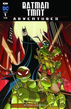 BATMAN TMNT ADVENTURES #1 REG, SUB A, SUB B, SUB C SET 11/09/2016 - $15.96