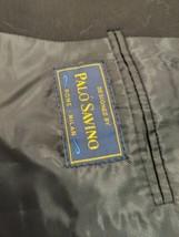 Mens black suit jacket Palo Savino  100%Wool  D172 - $26.63
