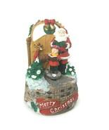 San Francisco Music Box Co Santa Carol Spin We Wish You a Merry Christmas - $39.59
