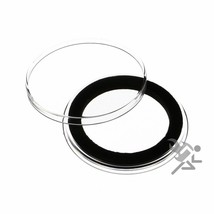 Canadian One Dollar Coin Capsule, Air-Tite Holders 36mm Black Ring, 5 Pack - $7.95
