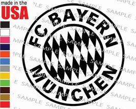 Bayern Munchen Munich Soccer Football Team Logo Cool Decal Car Window Sticker - $5.99