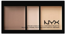 NYX Cream Highlight & Contour Palette - CHCP01 Light  - $8.59