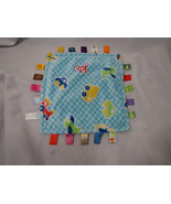 """Taggies Baby Security Blanket Sailboats Airplanes Cars 12 X 12"""" Boy Mini - $10.09"""