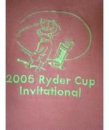 RARE Men's PING 2005 Ryder Cup Invitational PING Orange GOLF POLO SHIRT ... - $25.69
