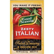Good Seasons Zesty Italian Salad Dressing & Recipe Mix 0.6 oz Packets