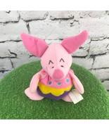 Disney Winnie The Pooh Easter Egg Piglet Holiday Plush Stuffed Animal So... - $9.89
