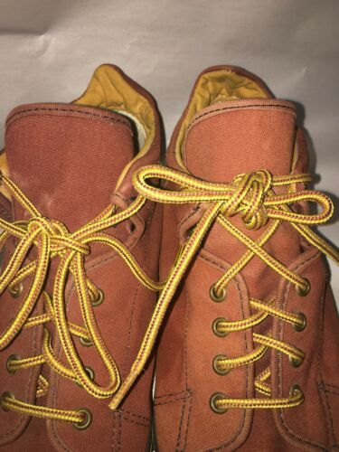 Rare  VANS  Men's Canvas shoes Size 9 MADE IN USA  Vintage