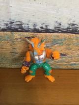 1990 Teenage Mutant Ninja Turtles Triceraton Figure TMNT Vintage Toy col... - $5.00