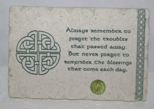 Roman Inc 47712 Faith Stones Always Remember Plaque 4 X 6 Inches