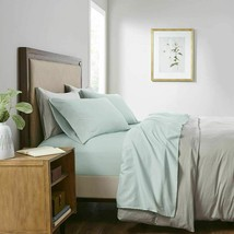 Smart Cool Microfiber Sheet Set Aqua New - QUEEN SIZE-   NEW IN PACKAGE  image 1