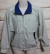 London Fog light jacket windbreaker size S Men white/blue NEW - $25.07