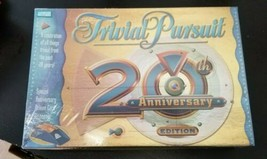 """Trivial Pursuit"" 20th Anniversary Edition Game NIB - $4.94"