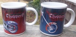 ~~ Lot Of 2 ORANGE COUNTY CHOPPERS COFFEE MUGS Dated 2004 ~ Motorcycle M... - $6.50