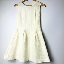 Forever 21 Women Size Medium Ivory Fit and Fare A-line Dress  - $12.86