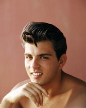 Fabian bare chested hunky pin up circa 1960 16x20 Canvas Giclee - $69.99