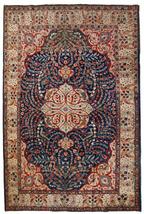 Hand made antique Persian Tabriz rug 6,2' x 9.5' ( 190cm x 292cm ) 1920s... - $5,070.00