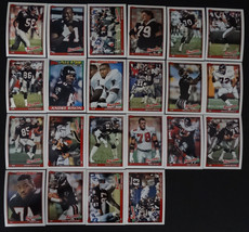 1991 Topps Atlanta Falcons Team Set of 22 Football Cards Missing #567 - $2.75