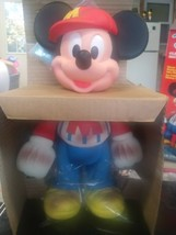 Vintage 1989 Disney Mickey Mouse Clean Fun Doll by Mattel - $15.79