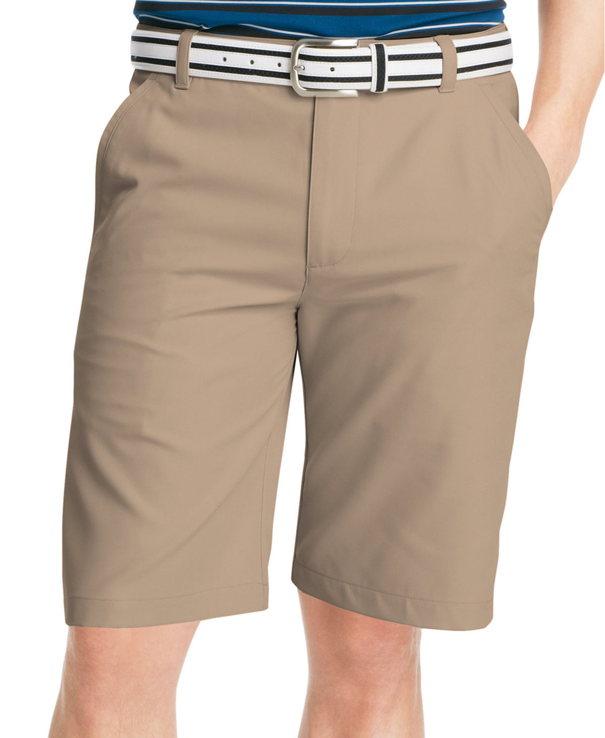 NEW MENS IZOD THE DRIVER COOL DRY WRINKLE FREE MICROFIBER WICKING SOFT SHORTS