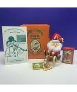 Jolly incense smoker Germany Santa Claus Christmas box Kathe Wohlfahrt D... - $173.25