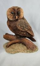 """Simon Harris Owl Figurine Resin Barn OWL Bird Vintage 6"""" - $24.99"""
