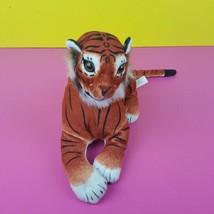"Goffa International Plush Tiger Big Cat Striped 12"" Vintage Stuffed Anim... - $16.82"