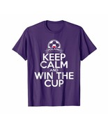 New Shirts - Poland Keep Calm And Win The Cup Soccer Ball Tee Men - $19.95+