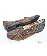 Steve Madden Classic Woven Fabric Aztec TAPESTRY Ballet Loafer Size  6 m... - $18.81