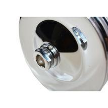 GM Saginaw Power Steering Pump Double-Groove Steel Pulley (Chrome) image 9