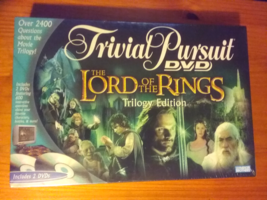 New/Sealed Lord of the Rings Trivial Pursuit DVD Game: Trilogy Edition  - $45.00