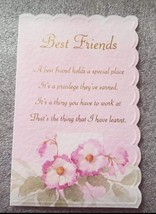 Best Friend Greeting Card. - $2.87