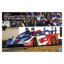 Aoshima Plastic Model 1/24 McLaren F1 GTR 1998 Long Tail Le Mans-24H 40 ... - $97.40+