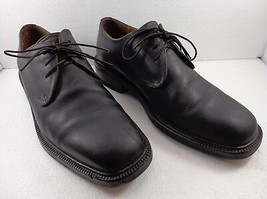 Cole Haan Mens 8.5 M Black Leather Oxford Shoes  - $73.01