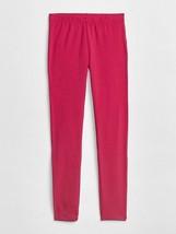 Gap Kids Girls Leggings 10 12 Hot Pink Stretch Jersey Elastic Waist Cotton New - $13.99