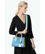 Marc Jacobs M0013267 Little Big Shot Leather Tote/ Shoulder Bag in Aquar... - $279.00