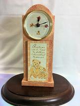 Cherished Teddies Clock - Harvest  2001 NIB - $34.60