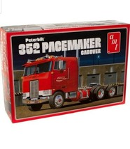 AMT Peterbuilt 352 Pacemaker Cabover (Coca Cola) 1:25 Scale Model Kit - $63.36