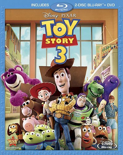 Disney's Toy Story 3 (Blu-ray/DVD, 2010)