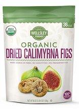 Wellsley Farms Organic Dried Calimyrna Figs, 36 OZ - $22.76