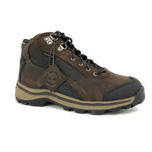 Timberland Youth Kids Lace Up Brown Waterproof Leather Hiking Boots 66732 - $65.02 CAD