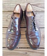 Cole Haan Size 10.5 B City Oxford Men Brown Leather Split Split Toe Dres... - $40.37