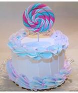"Dezicakes Lolli Pop Swirl Cake 6"" Faux Cake- Fake Food Decoration - €20,34 EUR"