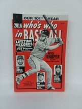 2016 Who's Who In Baseball, New - $4.95